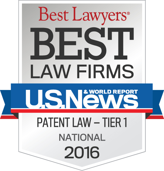 Best Lawyers Best law firms U.S. News Patent Law - Tier 1 National 2016