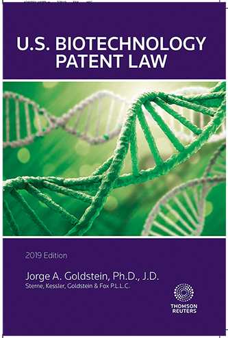 2019-2020 Edition of U.S. Biotechnology Patent Law