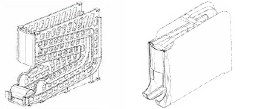 """""Image of '646 patent and Linz"