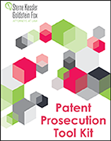 Picture of Patent Prosecution Tool Kit Book Cover